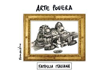 Umberto Romaniello insinua che i nostri Governi, più che a tutelar l'arte, badino ad altre cose…