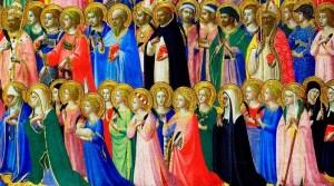 Día de Todos los Santos y día de difuntos
