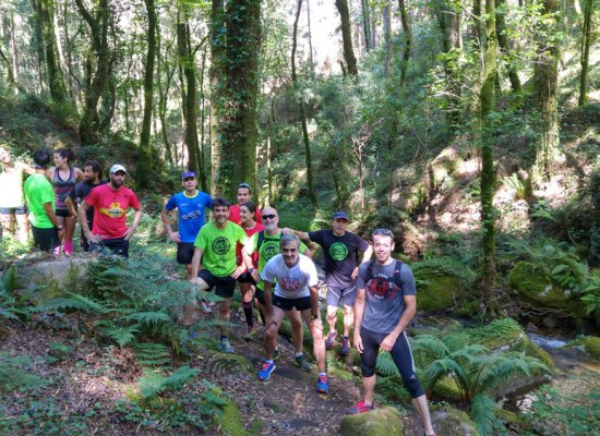Equipo trail running