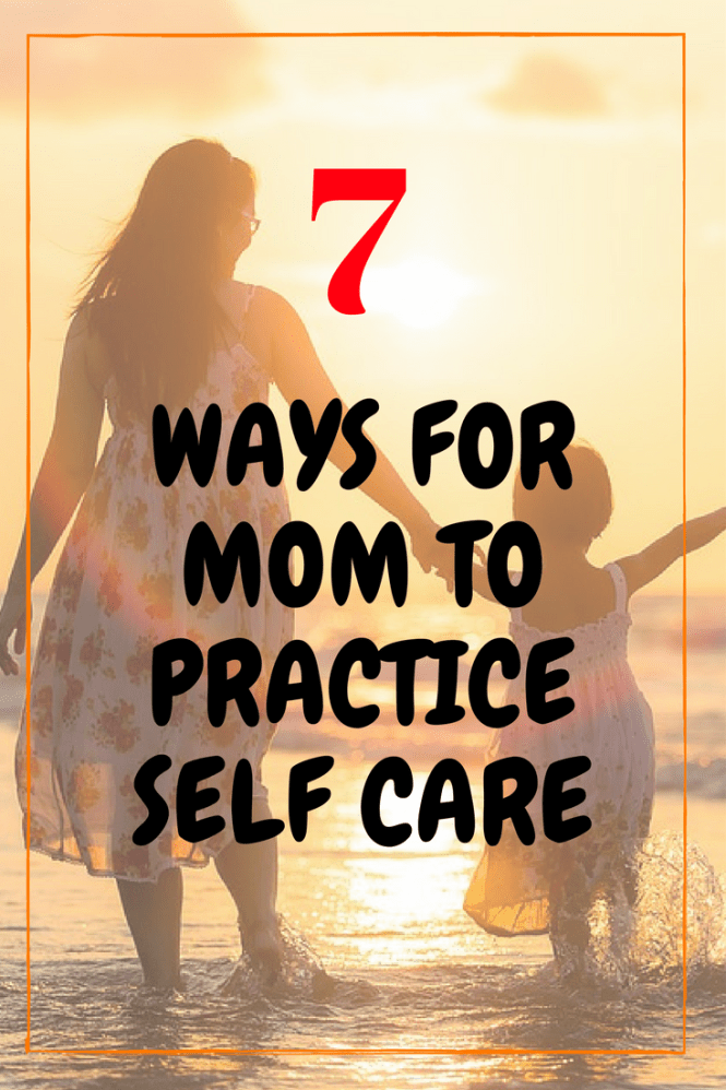 self care as a mom