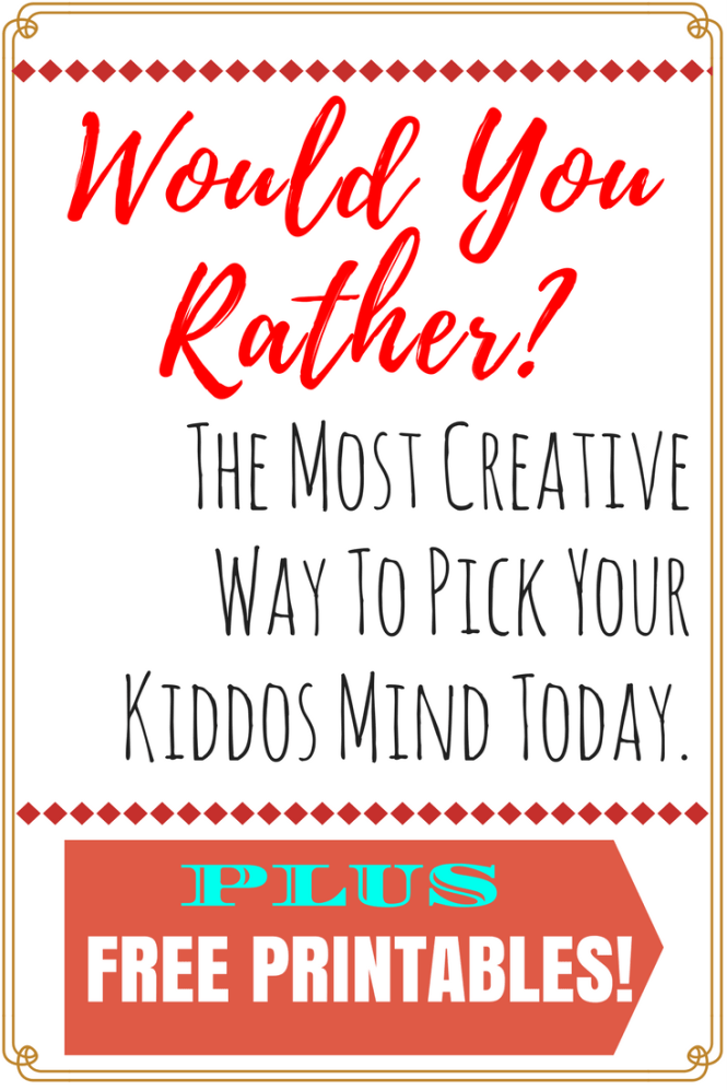 Would You Ever Visit A Card Teller If: Would You Rather Questions For Kids And For Toddlers