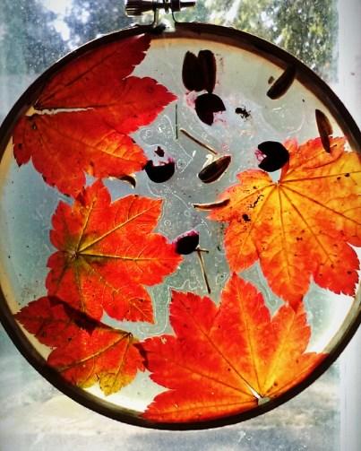 fall sun catchers