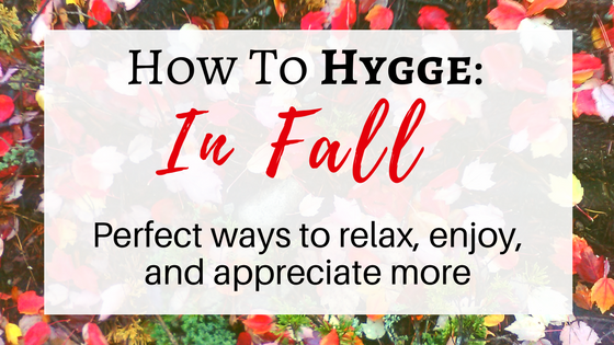 hygge in fall