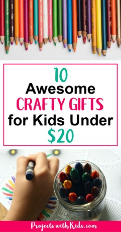 crafty kids gift guide