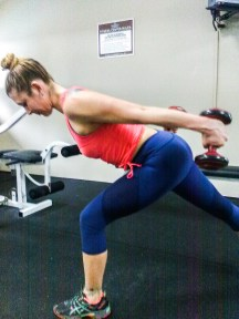 eliminate arm flab with tricep exercises with dumbbells at