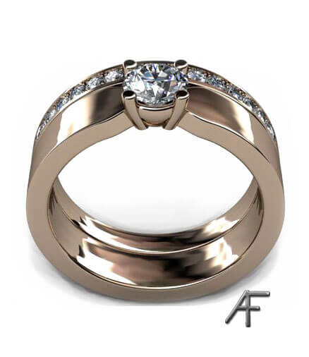 alliansring enstensring 18 k