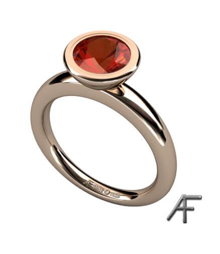 ring med madeira topas