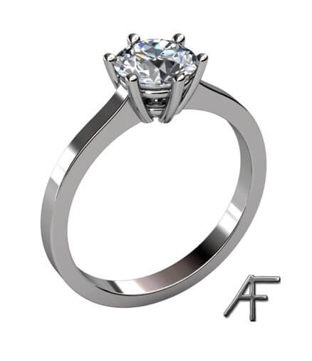 enstensring diamant platina 1.5 ct