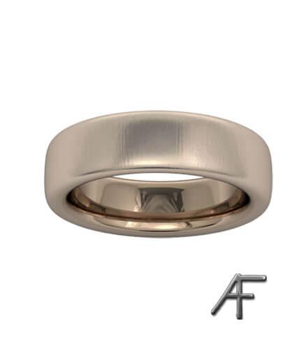 sidenmatt guldring 5,7 mm