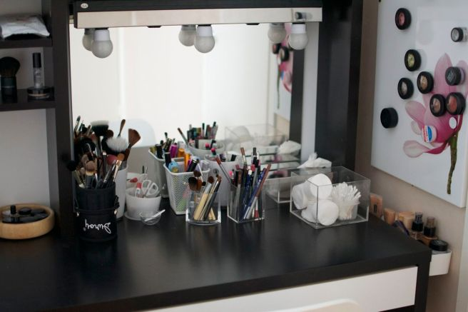 Meikkipöytä Ikea