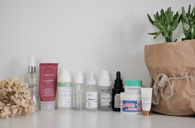 loppuneet kosmetiikkatuotteet kasvojen ihon hoito
