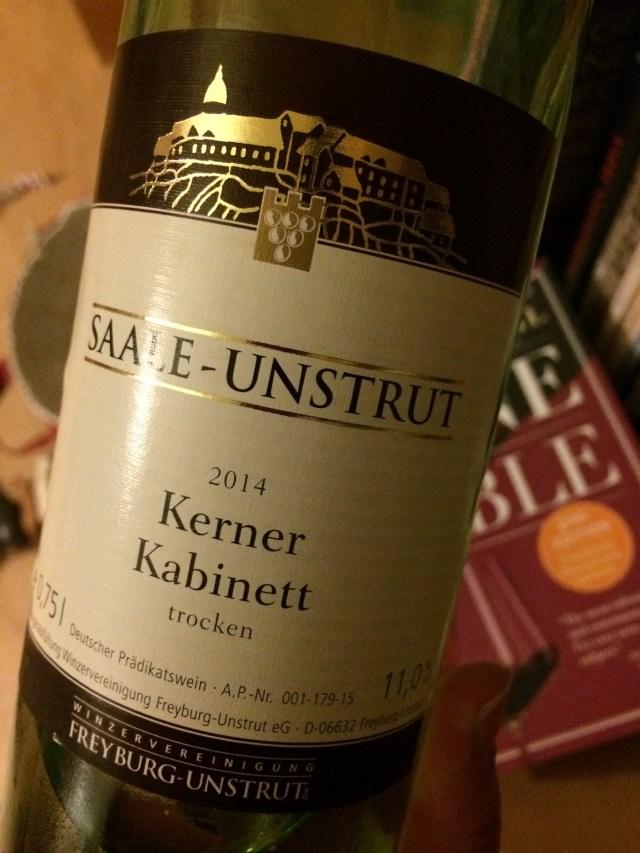 Kerner wine