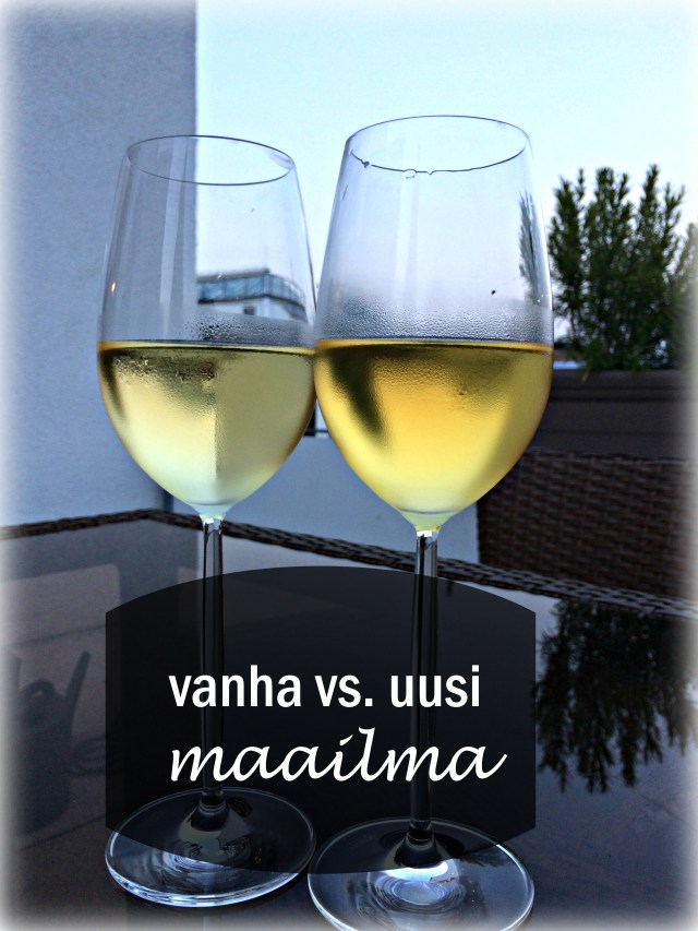 vanhan ja uuden maailman viinit