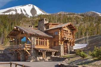 Cabana din lemn stil rustic