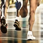 Musculatura da perna de maratonistas