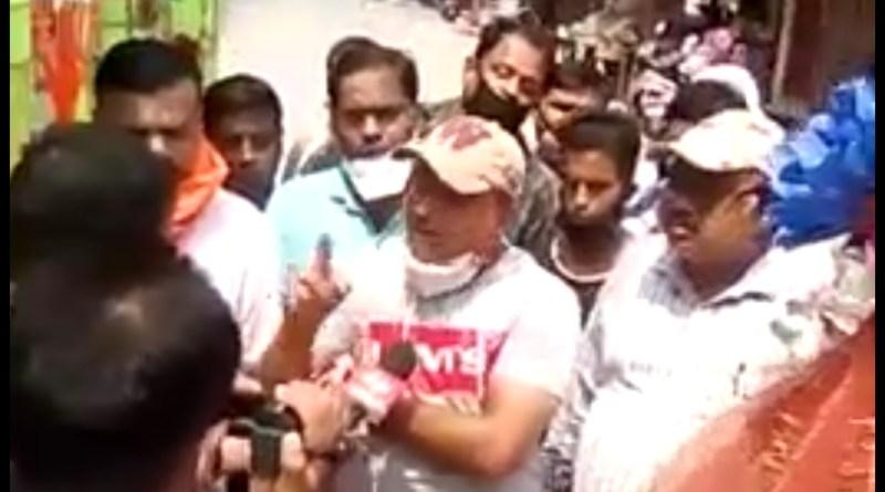 हरिद्वार कावड़ मेला सरकार द्वारा कैंसिल करने पर व्यापारियों ने  सरकार का किया विरोध।
