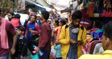 तीर्थ नगरी हरिद्वार में हुई शिव भक्तों की भीड़।