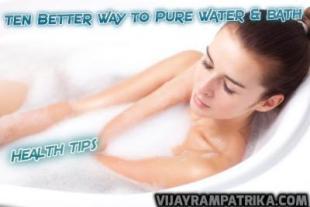 Bath and 10 beautifully advantages