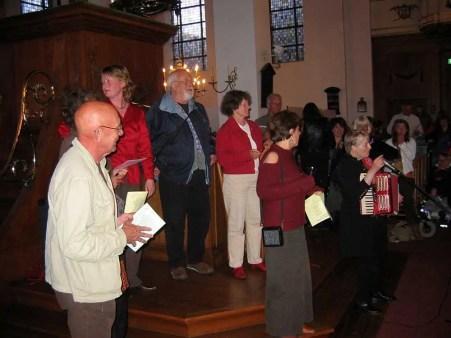 Zingen in de Nieuwe Kerk