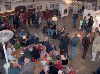 Muziek en drank in de Jopenkerk