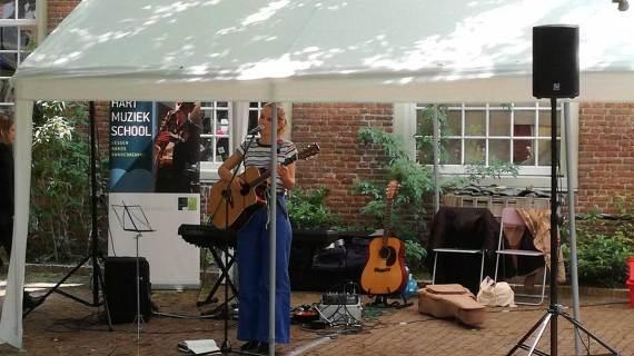 Muziek in het Proveniershof van de Hart-muziekschool