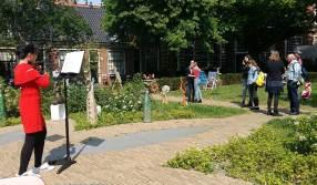 Beelden en muziek in het Proveniershof