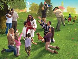 jesus-with-families