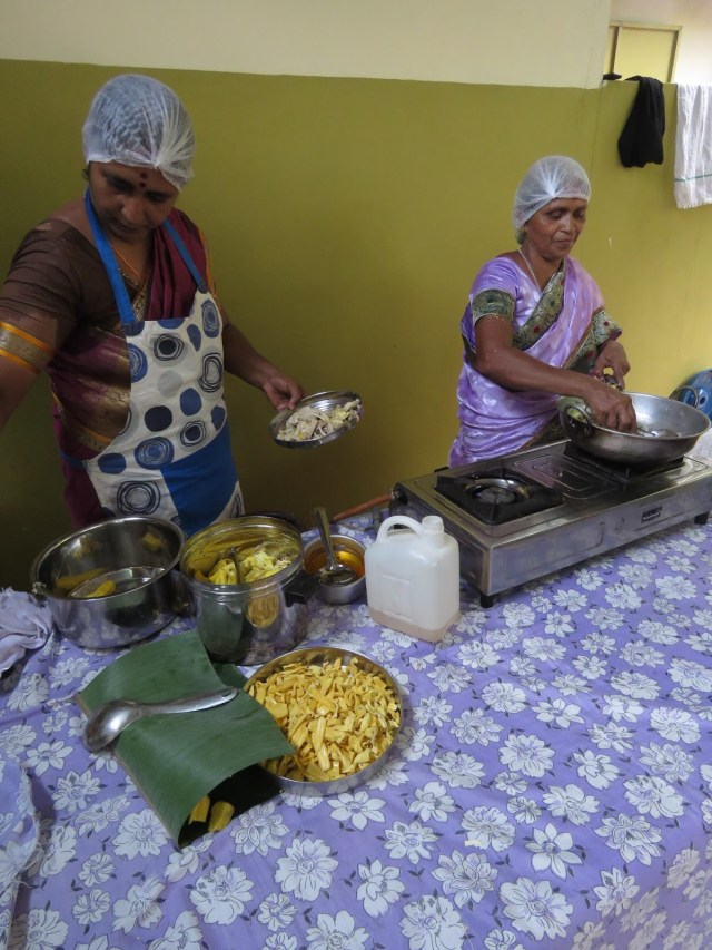 One lunch had 4 types of dishes made of jackfruit (chakka), a veritable jack festival!
