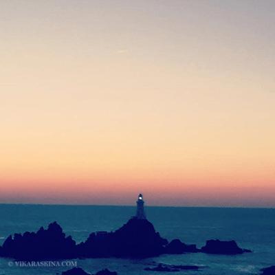 vika raskina - foto of lighthouse