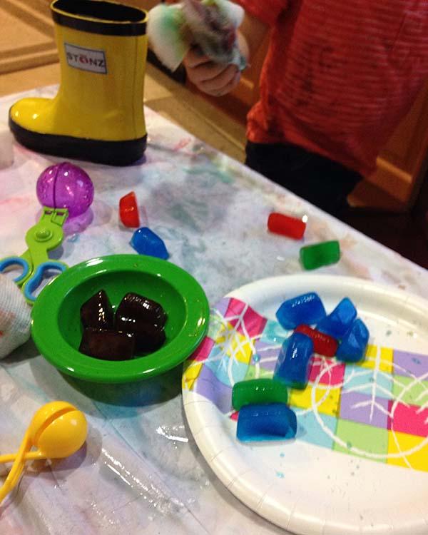 vika raskina - colored ice game