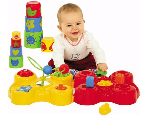 vika raskina - boy plaing with toys