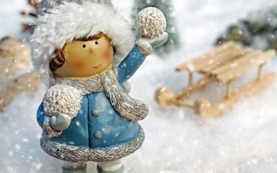 Зимне-новогодние книги для малышей (1-3 года)
