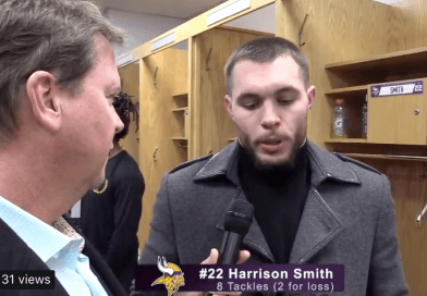 Harrison Smith on Vikings loss to the Bears