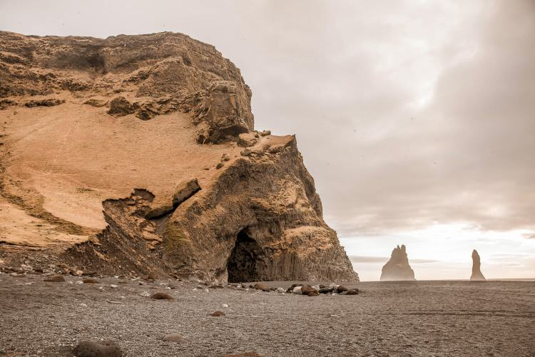 Reynisfjara Black Beach in Iceland