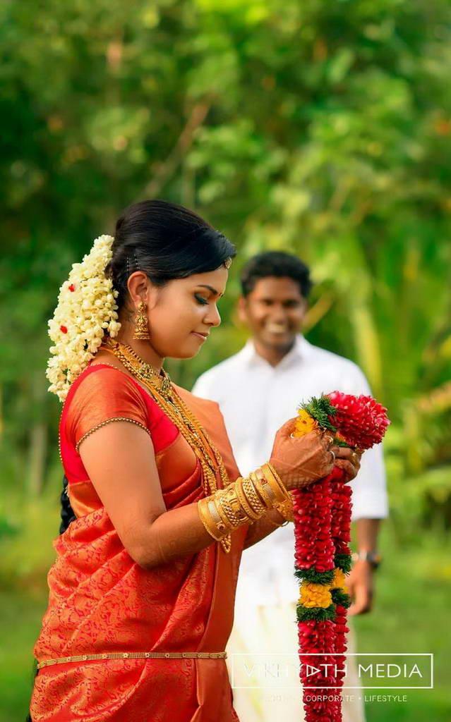 Traditional Hindu Wedding Photography At Pandalam