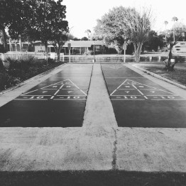 Shuffleboard, Plantation Inn & Golf Resort, Crystal River, FL