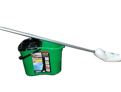 Mop Bucket and Stick