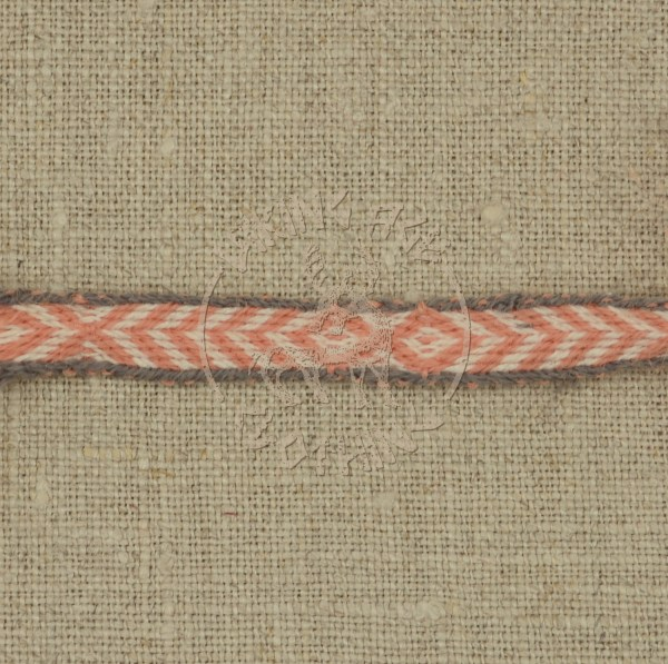 Kaupang band - apricot and grey