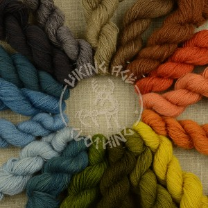 Plant-dyed 20/2 worsted - all colours