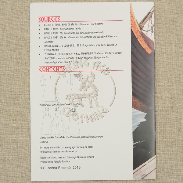 Sark and smokkr booklet - back