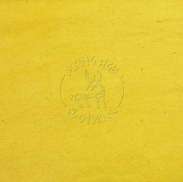 Plant-dyed plain weave fabric - weld yellow
