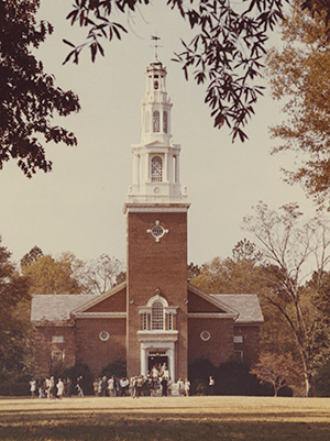 College Chapel, mid 1900s