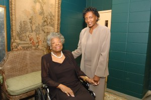 Maya Angelou at Forum
