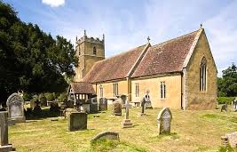 The parish church in Tirley.