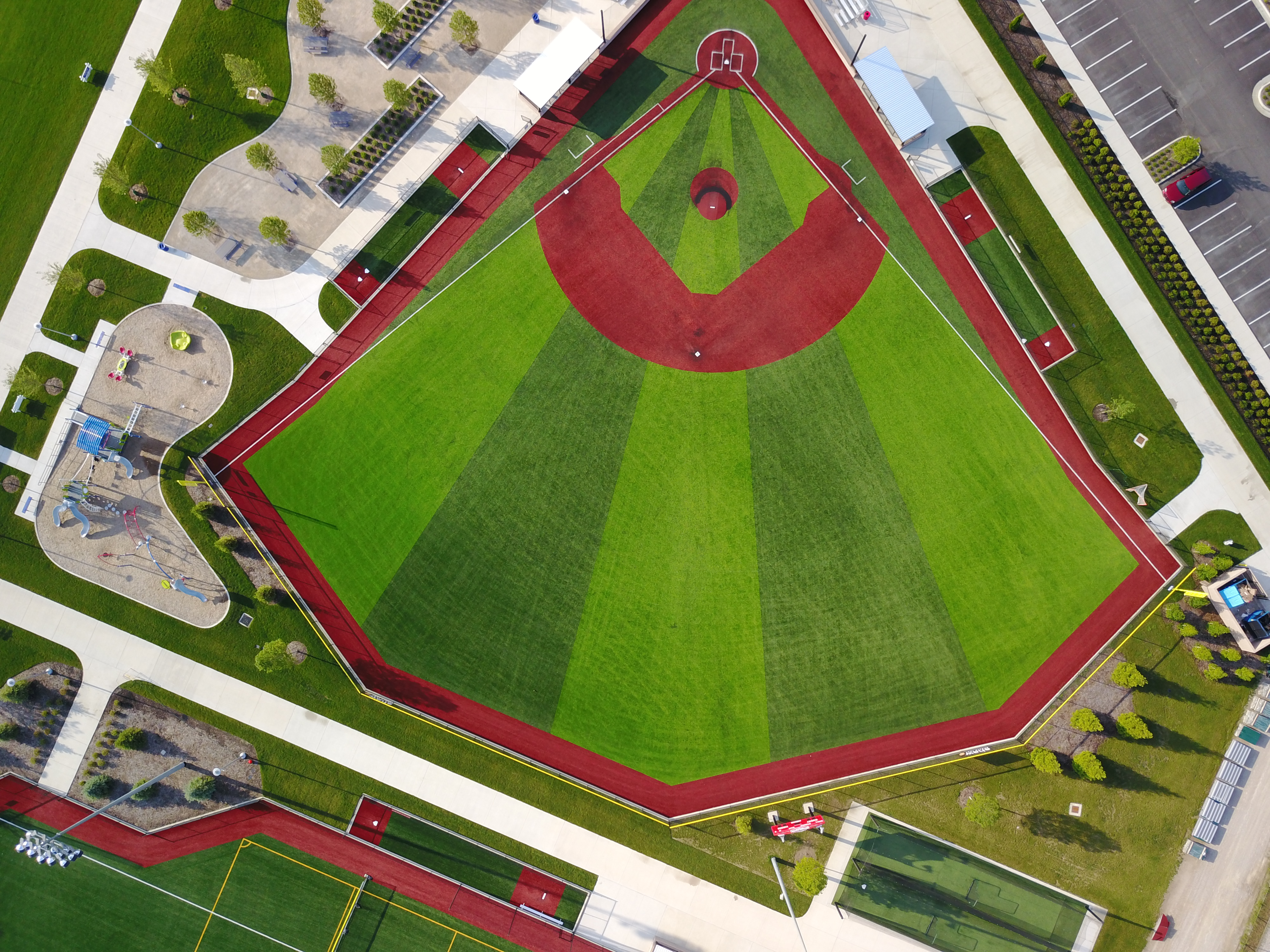 Sandusky Ohio Baseball Field