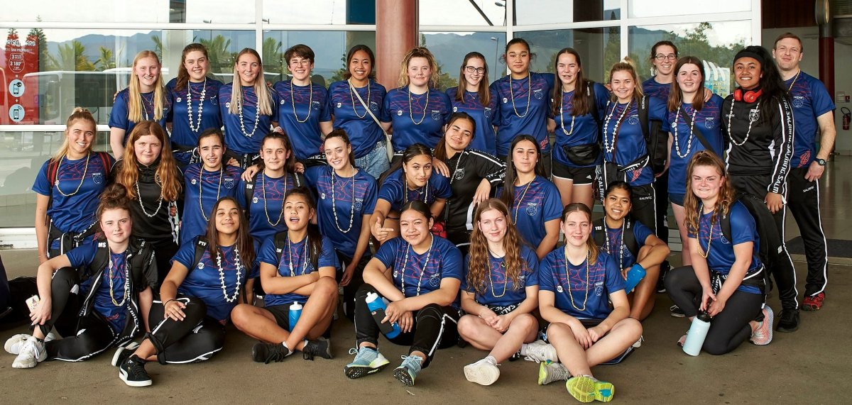 NZ Under 17 and Under 19 teams at IHF Trophy 2019