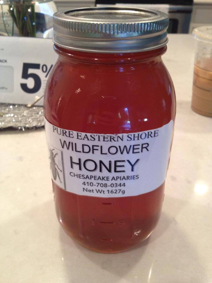 3 lbs wildflower honey