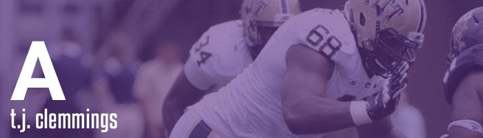 Draft Grades T.J. Clemmings