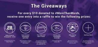 #MoreThanWords Campaign Giveaways