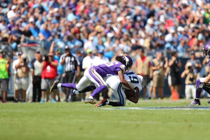 Vikings' Bumpy Win over Titans